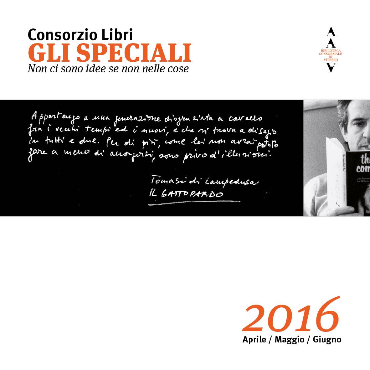 copertina Gli Speciali 2016