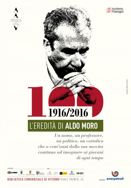 """manifesto """"L'eredità di Moro"""""""