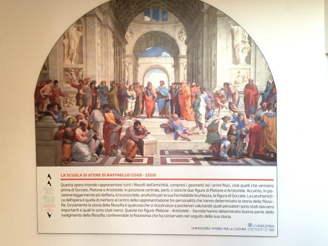 La Scuola di Atene a Viterbo