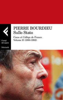 Sullo Stato. Corso al Collège de France. Vol. 2: 1990-1992.